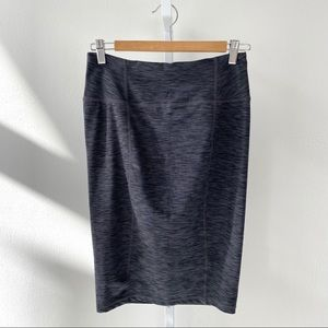 Prana Vertex Pencil Skirt Stretch Heather Gray XS